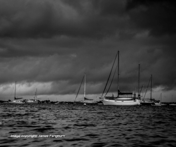 boats in storm