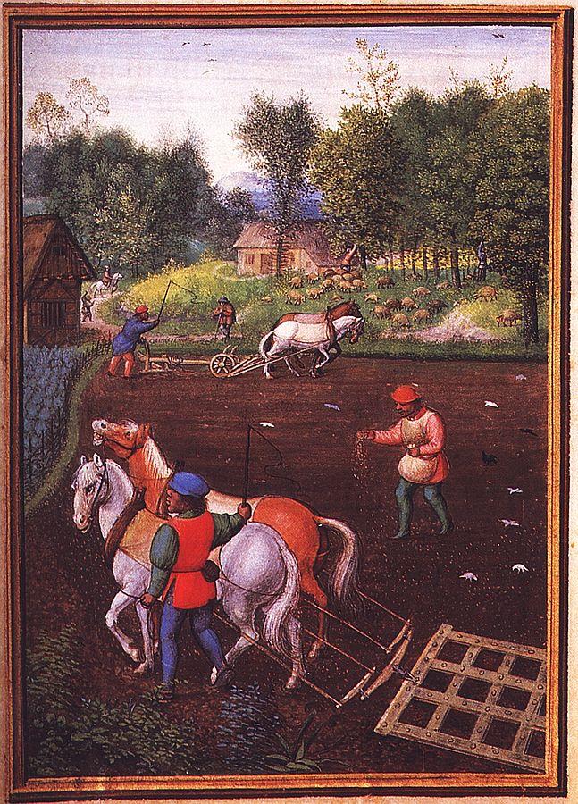 By Simon Bening (circa 1483/1484–1561) - München, StB, cod. lat. 23638, fol. 10v, Public Domain, Link