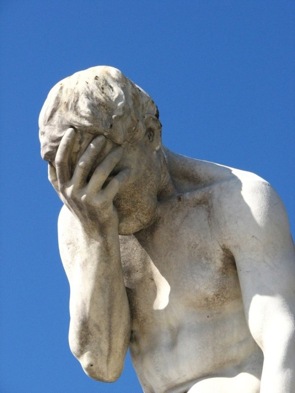 statue of despair
