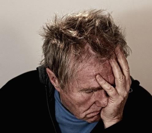 older man depressed