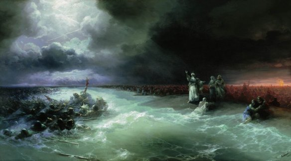 Moses and the crossing of the Red Sea
