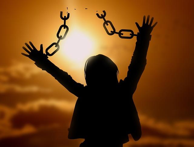person set free