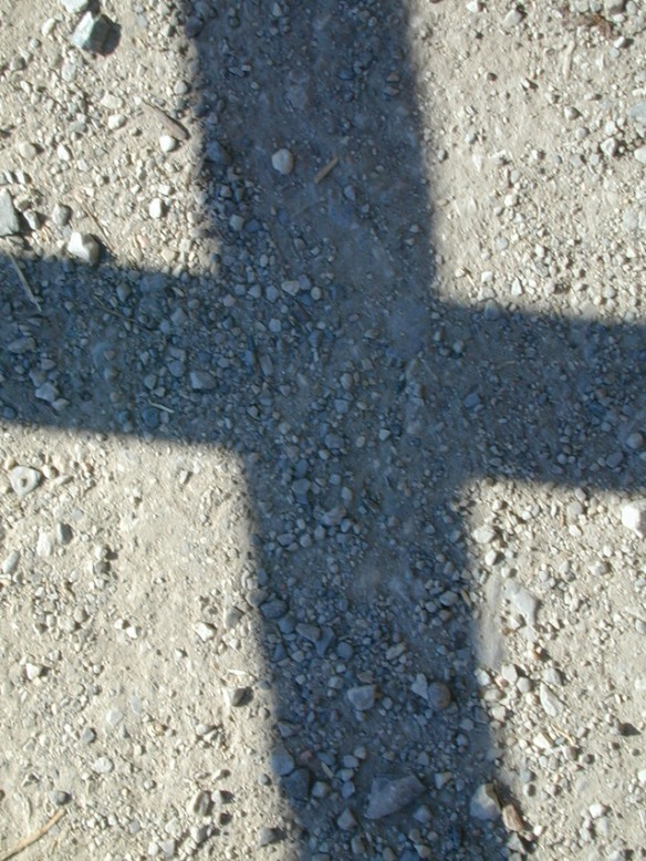 shadow of cross