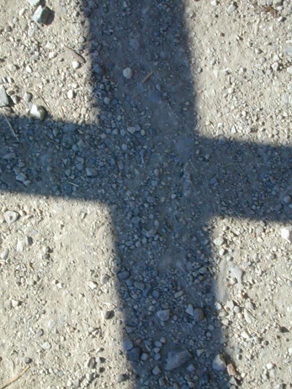 shadow of cross