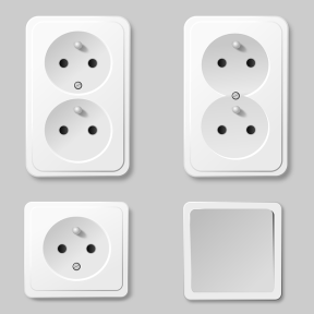non-U.S. electrical outlets
