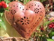 decorative metal heart