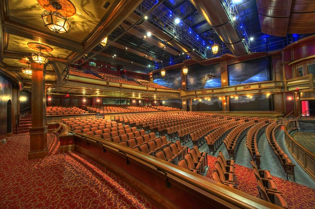 Photo of the interior of an auditorium at Florida State University