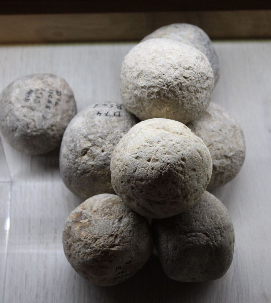 Several sling stones from 701 BC